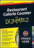 Restaurant Calorie Counter for Dummies (For Dummies)