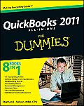 QuickBooks 2011 All-In-One for Dummies (For Dummies) Cover