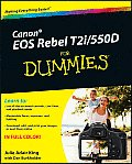 Canon EOS Rebel T2i/550d for Dummies