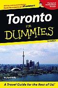 Toronto for Dummies 1ST Edition