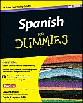 Spanish for Dummies [With CD (Audio)] (For Dummies) Cover