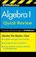 CliffsNotes Algebra I Quick Review (Cliffs Quick Review)