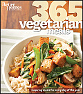 Better Homes & Gardens Cooking #48: Better Homes & Gardens 365 Vegetarian Meals Cover