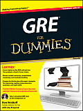 GRE for Dummies [With CDROM] (For Dummies) Cover
