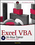 Excel VBA 24 Hour Trainer 1st Edition