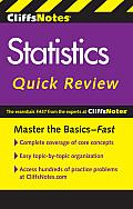 Cliffsnotes Statistics Quick Review