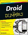 Droid X for Dummies (For Dummies) Cover