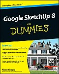 Google Sketchup 8 for Dummies Cover