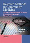 Research Methods Community Medicine 6e