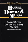 Sample Survey Methods and Theory, 2 Volume Set