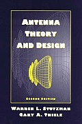 Antenna Theory and Design (2ND 98 - Old Edition)