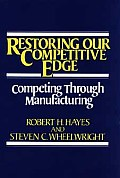 Restoring Our Competitive Edge: Competing Through Manufacturing