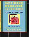 Quick Memory Management Techniques