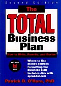 Total Business Plan How To Write 2nd Edition