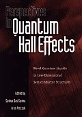 Perspectives in Quantum Hall Effects: Novel Quantum Liquids in Low-Dimensional Semiconductor Structures