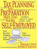 Tax Planning & Prep For Self Employment