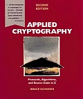 Applied Cryptography 2ND Edition Cover