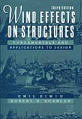 Wind Effects On Structures Fundament 3rd Edition