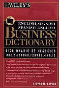 Wileys English Spanish Business Dictionary Bus