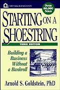 Starting On A Shoestring Building 3rd Edition
