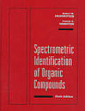Spectrometric Identification Of Organic Compounds 6th Edition