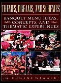 Themes Dreams & Schemes Banquet Menu Ideas Concepts & Thematic Experiences