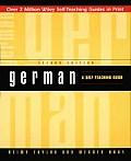German Self Teaching Guide
