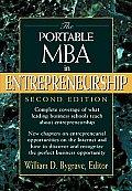 Portable Mba In Entrepreneurship 2nd Edition
