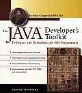 The Java Developer's Toolkit: Techniques and Technologies for Web Programmers