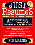 Just Resumessup TM 200 Powerful & Proven Successful Resumes to Get That Job