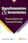 Questionnaires & Inventories Surveying O