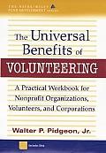 Universal Benefits Of Volunteering