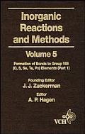 Inorganic Reactions & Methods Volume 5