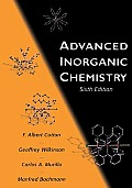 Advanced Inorganic Chemistry 6TH Edition