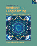 Introduction to Engineering Programming Solving Problems with Algorithms