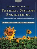 Introduction to Thermal Systems Engineering Thermodynamics Fluid Mechanics & Heat Transfer With CDROM