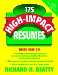 175 High Impact Resumes 3rd Edition