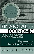 Financial & Economic Analysis for Engineering & Technology Management