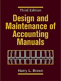 Design and Maintenance of Accounting Manuals