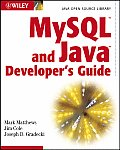 Mysql and Java Developer's Guide (03 Edition)