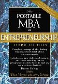 Portable Mba In Entrepreneurship 3rd Edition