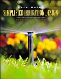 Simplified Irrigation Design (Landscape Architecture) Cover