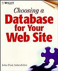 Choosing a Database for Your Web Site