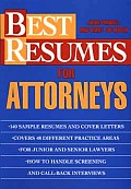 Best Resumes For Attorneys