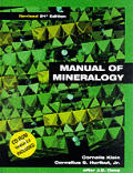 Manual of Mineralogy Revised 21st Edition