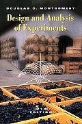 Design and Analysis of Experiments (5TH 01 - Old Edition)