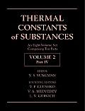 Thermal Constants of Substances, 8 Volume Set