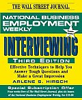 National Business Employment Weekly Guide to Interviewing