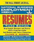National Business Employment Weekly Guide to Resumes (National Business Employment Weekly Premier Guides Series)