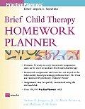 Brief Child Therapy Homework Planner